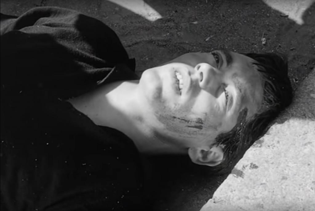 Franco Citti nel film <em>Accattone</em> di Pier Paolo Pasolini, 1961