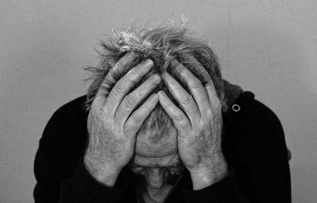 disperazione - problemi psichici - stress