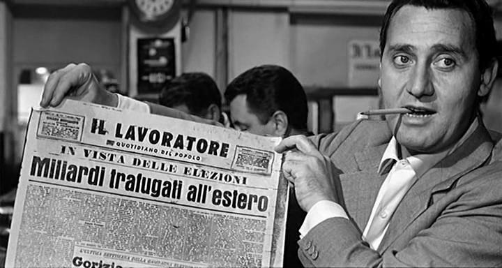 Alberto Sordi - Giornalismo - Homo Sum
