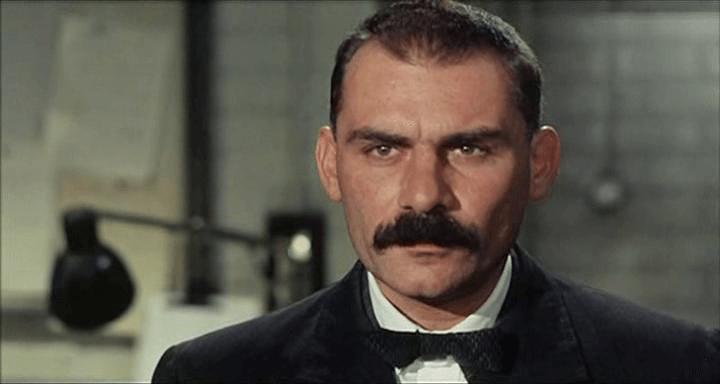 Gian Maria Volonté nel ruolo di Bertolomeo Vanzetti, in Sacco e Vanzetti di Giuliano Montaldo, 1971