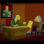 Il giorno che morì la violenza, settima stagione de I Simpson