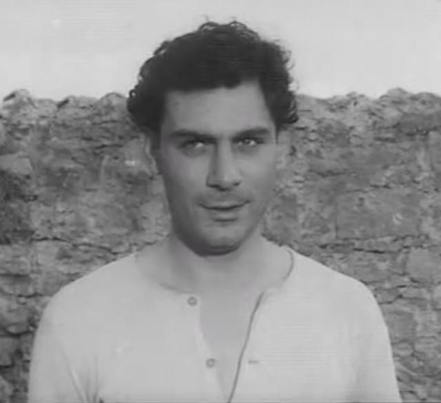 """Gian Maria Volonté, nel ruolo di Salvatore Carnevale, in """"Un uomo da bruciare"""" di: Valentino Orsini, Paolo e Vittorio Taviani, 1962"""